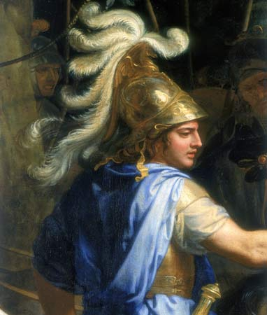 Alexander the great paintings became popular in the 19th century