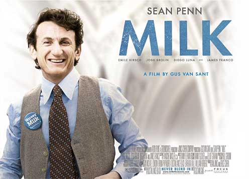 sean penn milk kiss. Milk has often been thought of